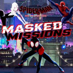Spiderman Into The Spiderverse Masked Missions Games Gamezhero Com