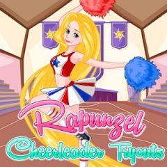 Rapunzel Cheerleader Tryouts