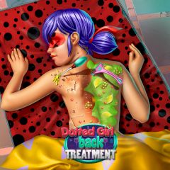 Dotted Girl Back Treatment
