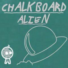 Chalkboard Alien
