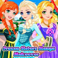 Frozen Sisters Manga Makeover