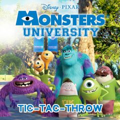 Monsters University Tic-Tac-Throw