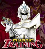 Power Rangers. Mystic Training