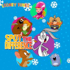 Looney Tunes Winter Spot the Difference