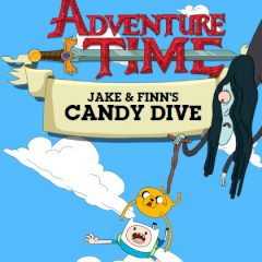 Adventure Time Finn & Jake's Candy Dive
