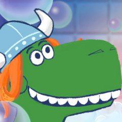 Party Saurus Rex Bubble Bounce
