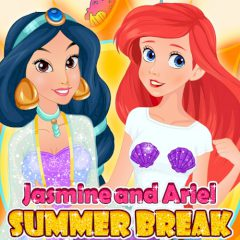 Jasmine and Ariel Summer Break