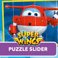 Super Wings Puzzle Slider