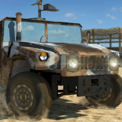 Off-road Army Car 3D Parking