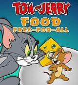 Tom and Jerry. Food Free-For-All