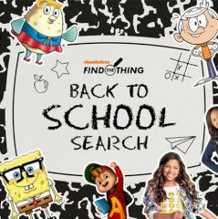 Nickelodeon Back to School Search