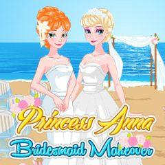 Princess Anna Bridesmaid Makeover