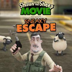 Shaun the Sheep Sneaky Escape
