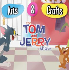 Tom and Jerry Arts & Crafts