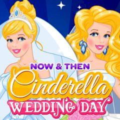 Now & Then: Cinderella Wedding Day