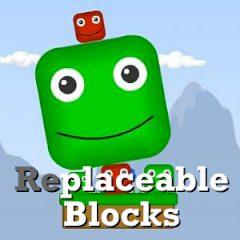 Replaceable Blocks