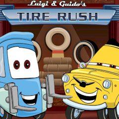 Cars Luigi & Guido's Tire Rush