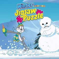 Looney Tunes Winter Jigsaw Puzzle