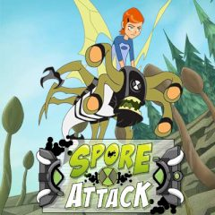 Ben 10 Ultimate Alien Spore Attack