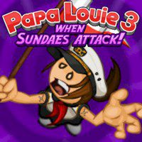Papa Louie 3 when Sundaes Attack!