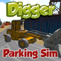 Digger Parking Sim