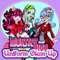 Monster High Uniform Glam up
