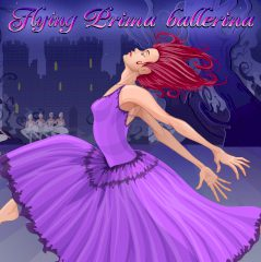 Flying Prima Ballerina. Dress Up