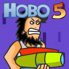 Hobo 5. Space Brawls: Attack of the Hobo Clones