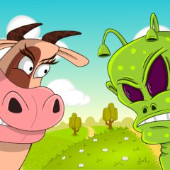 Cows vs. Aliens