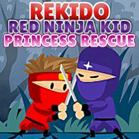 Rekido Red Ninja Kid Princess Rescue
