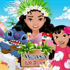 Moana, Lilo & Stitch