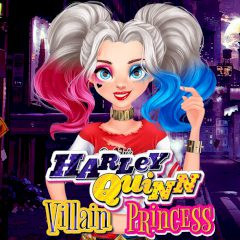 Harley Quinn Villain Princess