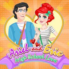 Ariel and Eric High School Love
