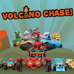 Kingdom Force Volcano Chase