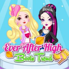 Ever after High Boots Trend