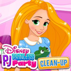 Disney Princess PJ Party Clean-up