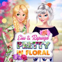 Elsa & Rapunzel Pretty in Floral