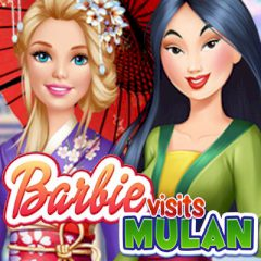 Barbie Visits Mulan