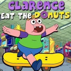 Clarence Eat the Donuts