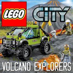 LEGO My City 2 Volcano Explorers