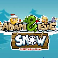 Adam & Eve Snow Christmas Edition