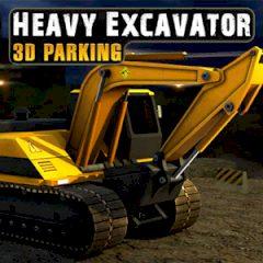 Heavy Excavator 3D Parking