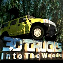 3D Truck in the Woods