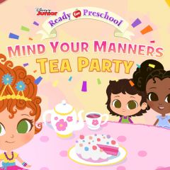 Ready for Preschool Mind Your Manners Tea Party