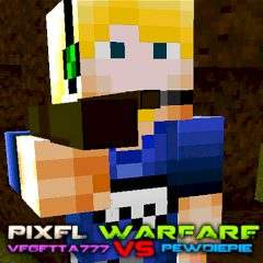 Pixel Warfare 3: Vegetta777 vs Pewdiepie
