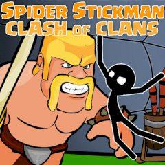 Spider Stickman Clash of Clans