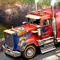 Skill 3D Parking Thunder Trucks