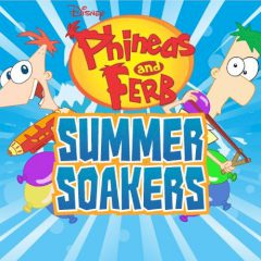 Phineas and Ferb Summer Soakers