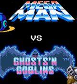 Megaman VS Ghosts'n Goblins