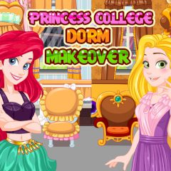 Princess College Dorm Makeover